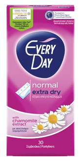 EveryDay Extra Dry Normal Σερβιετάκια 30τεμάχια