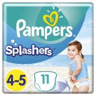 Pampers Πάνες Splashers Carry Pack 4-5 (11τεμ) 9-15 kg