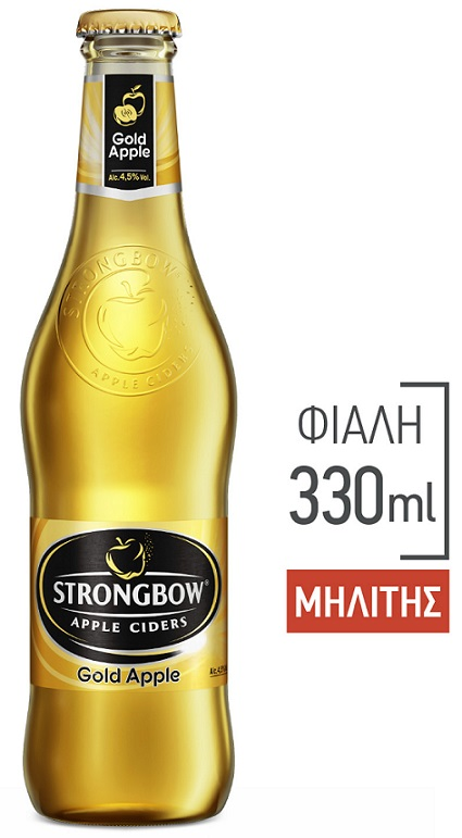 Strongbow Gold Μηλίτης 330ml