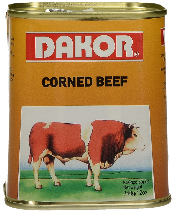 Dakor Corned Beef 340gr