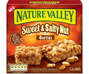 Nature Valley Bars Sweet & Salty Nut 5x30gr