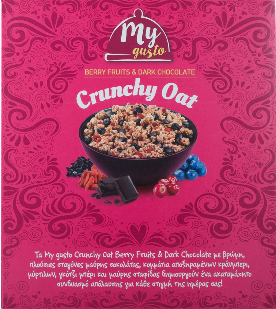 My Gusto Crunchy Berry Fruits 375gr