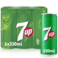 Seven Up 6x330ml