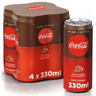 Coca-Cola Coffee Plus 4x330ml