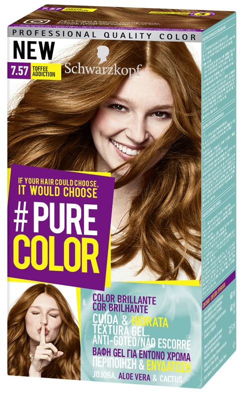 Schwarzkopf Pure Color 7.57  Toffee Addiction