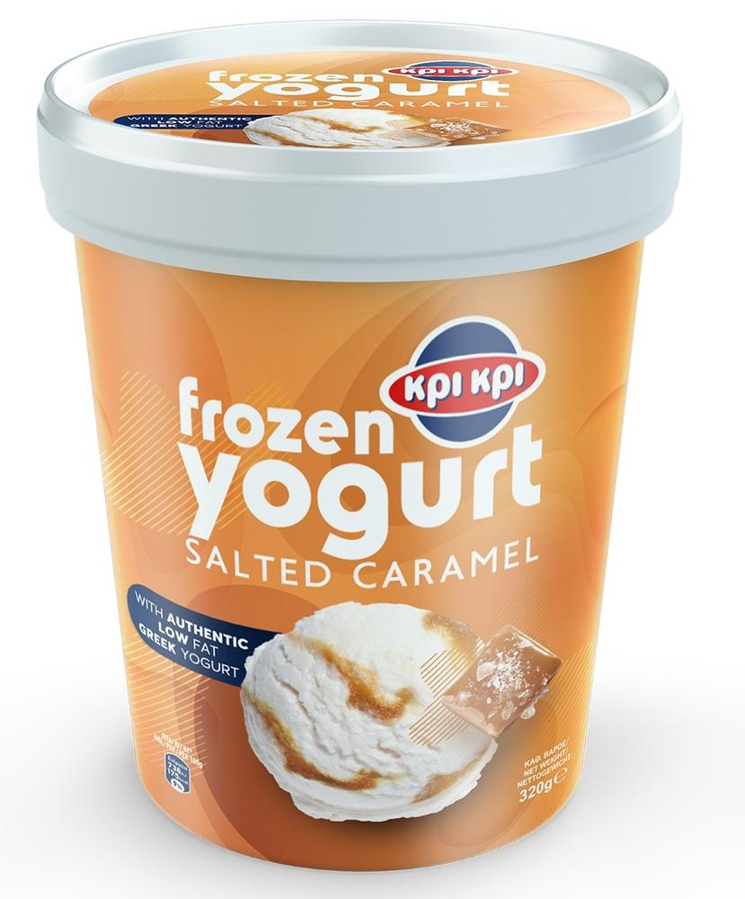 Κρι Κρι Frozen Yogurt Salted Caramel 320gr