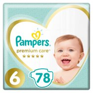 Pampers Πάνες Premium Care Mega Box (78τεμ) Νo6 (13+kg)