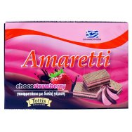 Amaretti Γκοφρέτα Chocostrawberry 68gr