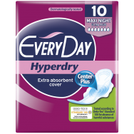 EveryDay Σερβιέτες Hyperdry Eliptica Ultra Plus Maxi Night 10 τεμάχια