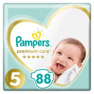 Pampers Πάνες Premium Care Mega Box (88τεμ) Νο5 (11-16kg)