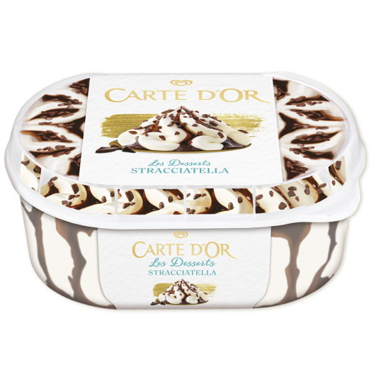 Algida Carte D'Or Παγωτό Stracciatella 500gr