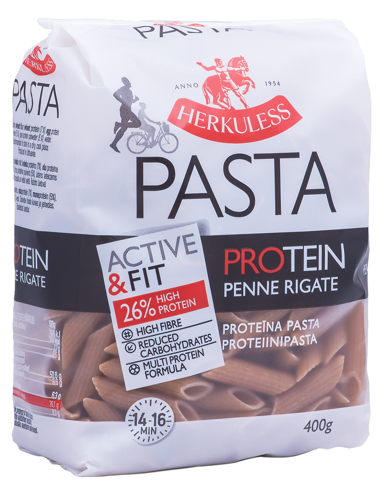 Herkuless Penne Rigate Ζυμαρικά Πρωτείνης 400gr