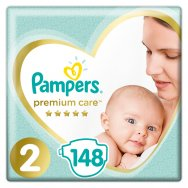 Pampers Πάνες Premium Care Mega Box (148τεμ) Νo2 (4-8kg)