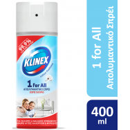 Klinex 1 For All Απολυμαντικό Spray Cotton 400ml