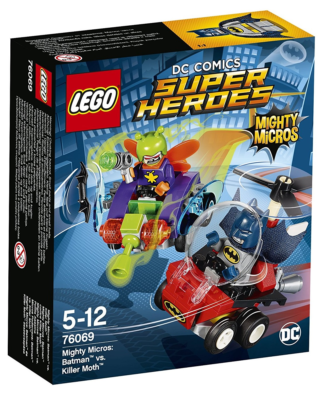 Lego Mighty Micros Batman VS Killer moth