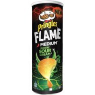 Pringles Sizzling Flame Soure Cream 160gr