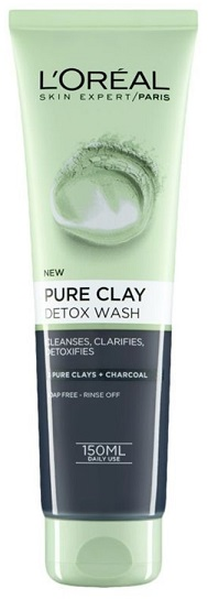 L'OREAL Pure Clay Gel Detox 150ml