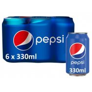 Pepsi Cola Regular 6x 330ml