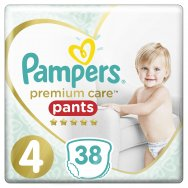 Pampers Πάνες Premium Care Pants Jumbo Pack (38τεμ) Νo4 (9-15kg)