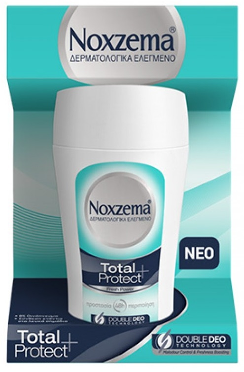 Noxzema Total Protect Fresh Power Roll-on 50ml
