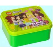 LEGO School Lunch Box Friends Bright Green
