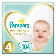 Pampers Πάνες Premium Care Mega Box (104τεμ) Νο4 (9-14kg)