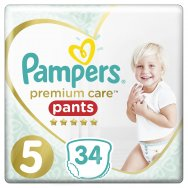 Pampers Πάνες Premium Care Pants Jumbo Pack (34τεμ) Νo5 (12-17kg)