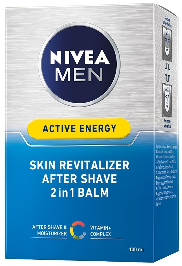 Nivea Men After Shave Skin Energy Balsam 100ml