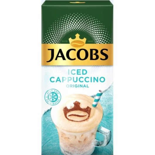 Jacobs Iced Cappuccino Original 8Φακελάκια 17,80gr