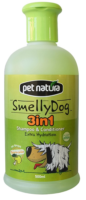 Pet Natura Shampoo & Conditioner 3in1 500ml