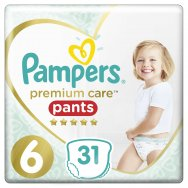 Pampers Πάνες Premium Care Pants Jumbo Pack (31τεμ) Νo6 (15+kg)