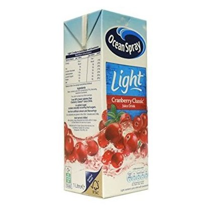 Ocean Spray Χυμός Cranberry Light 1lt