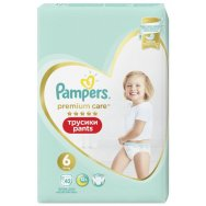 Pampers Πάνες Premium Care Pants Mega Pack (42τεμ) Νo6 (15+kg)