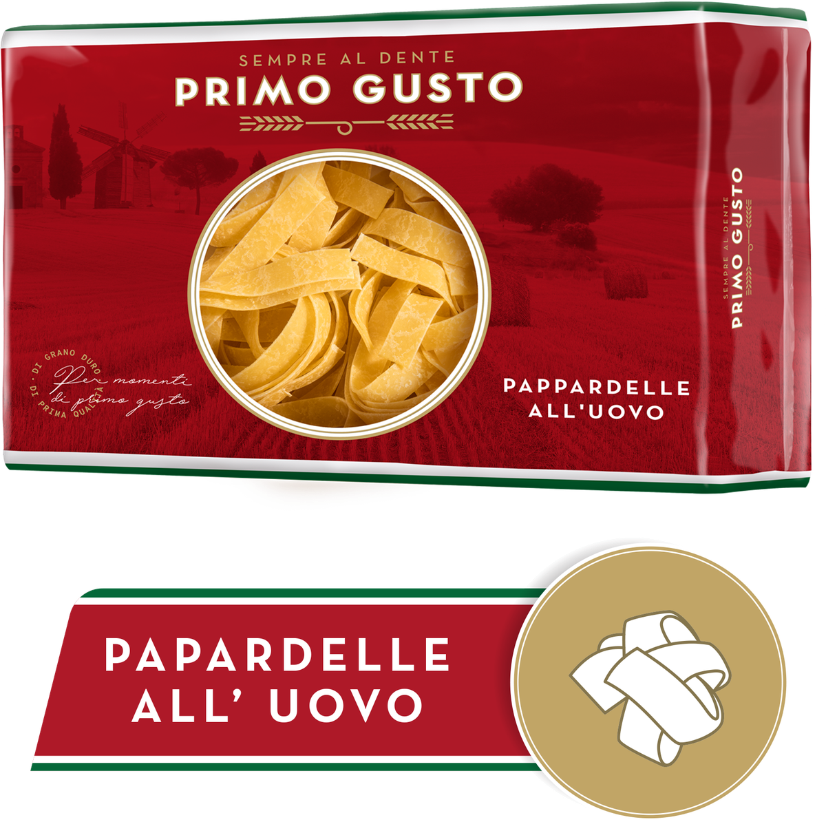 Primo Gusto Ζυμαρικά Pappardelle 250gr
