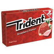 Trident Fruit Τσίχλα Φράουλα 16τεμ