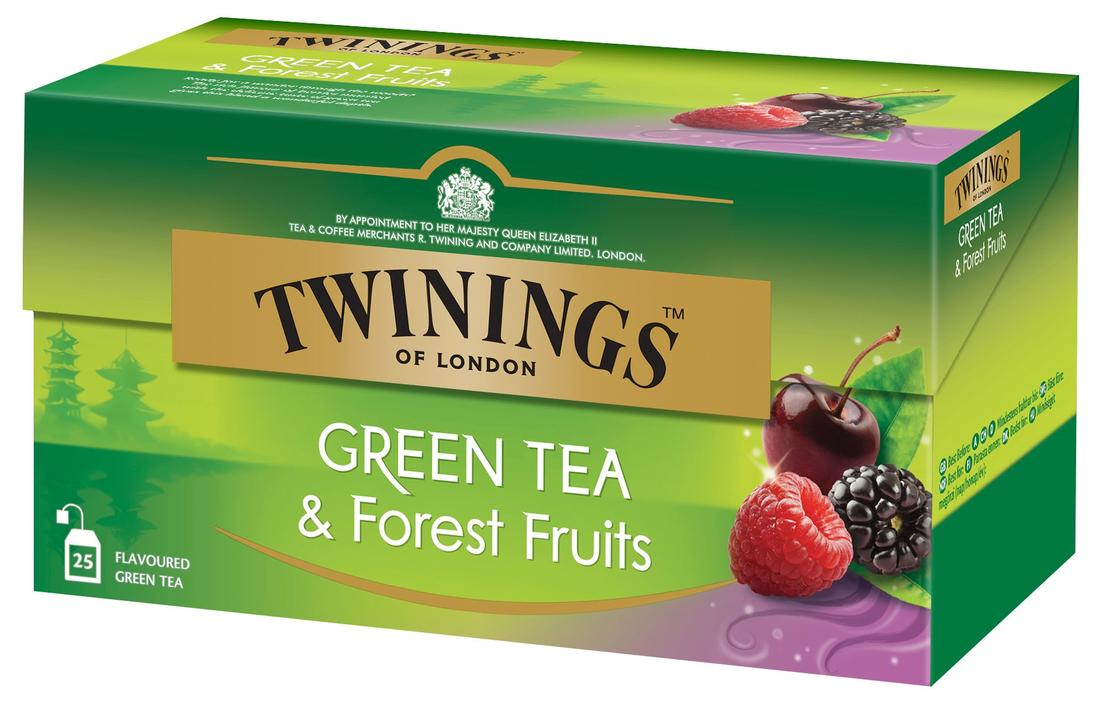 Twinings Green Tea Forest Fruit 25 Φακελάκια