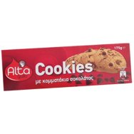 Alta Gusto Μπισκότα Cookies Με Κομματάκια Σοκολάτας 175gr