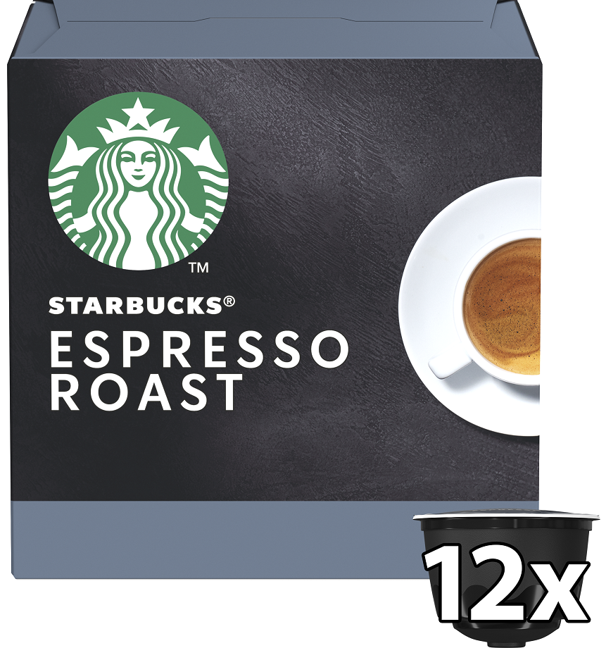 Starbucks Espresso Dark Roast Κάψουλες 66gr