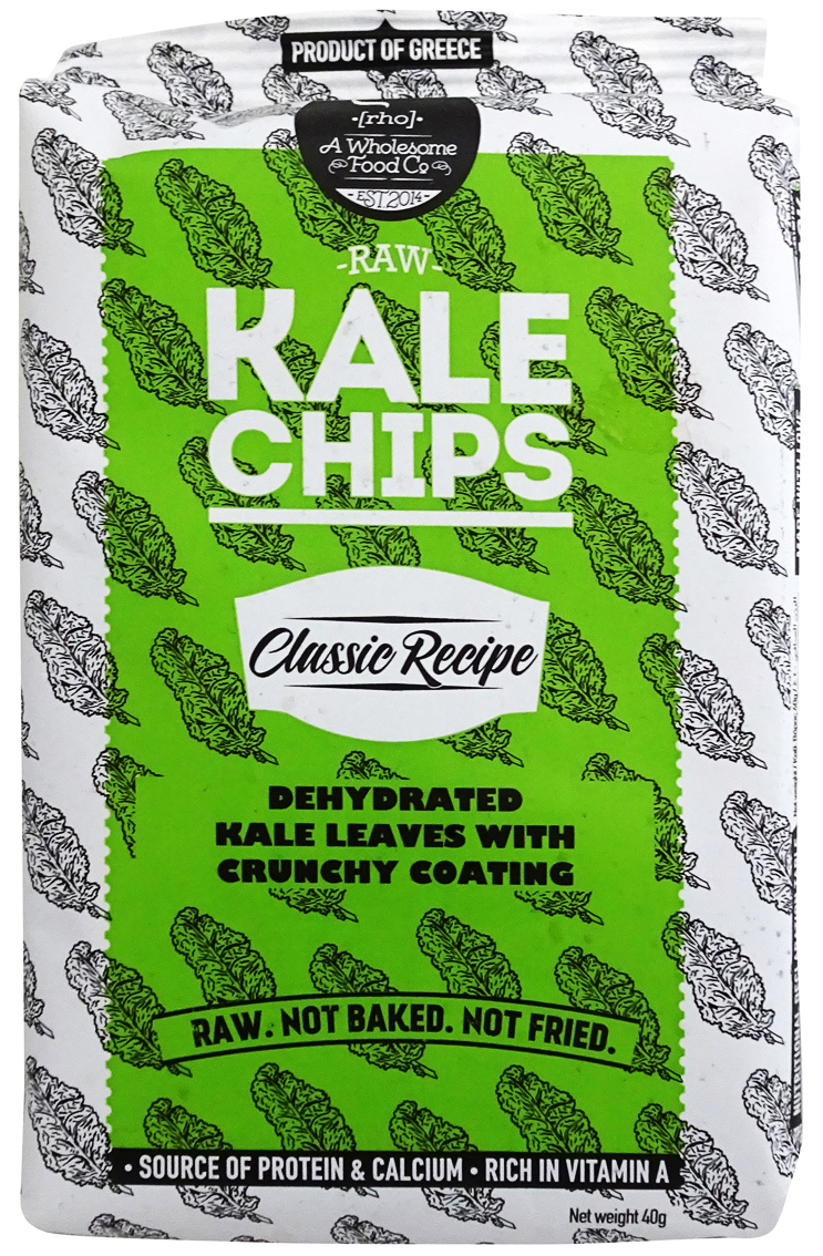 Raw+Kale+Chips+Classic+Recipe+40gr