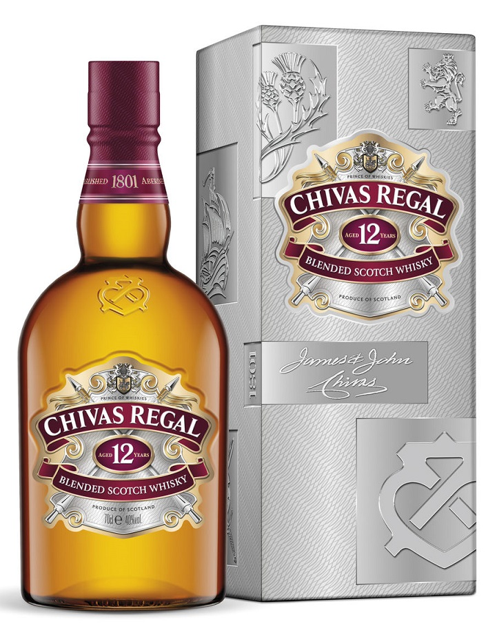 Chivas Regal 12 Years Old Deluxe Whisky 700ml