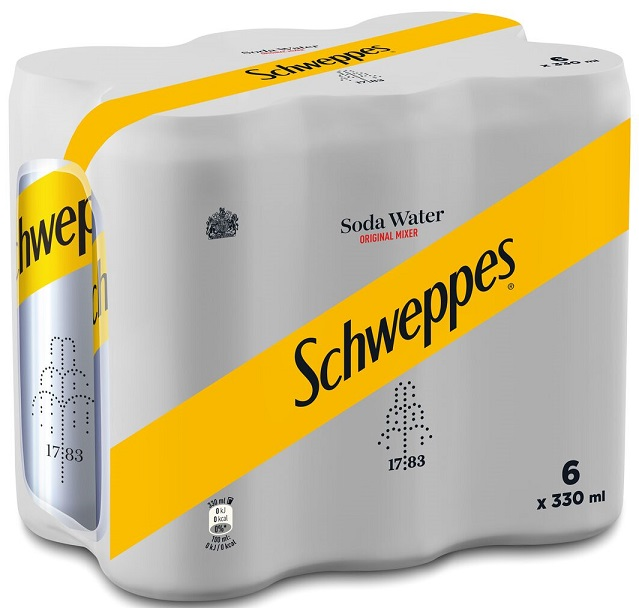Schweppes Club Soda 6x330ml