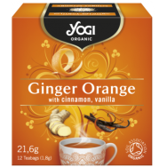 Yogi Tea Ginger Orange Τσαϊ Βιο 12x21,6gr