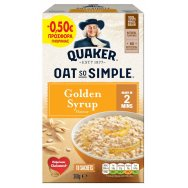 Quaker Oat So Simple Golden Syrup 10x36gr -0,50€