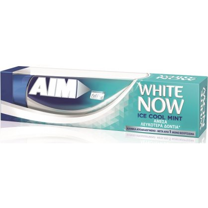Aim Οδοντόκρεμα White Now Ice Cool Mint 75ml