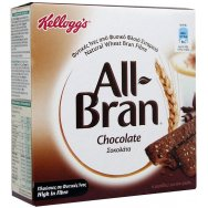Kellogg's Bars All Bran Choco Bar 6x40gr