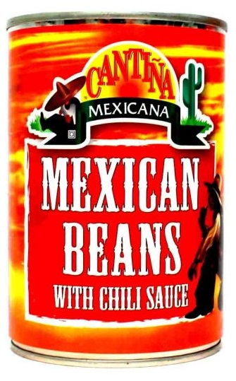 Cantina Mexicana Φασόλια Chili 410gr