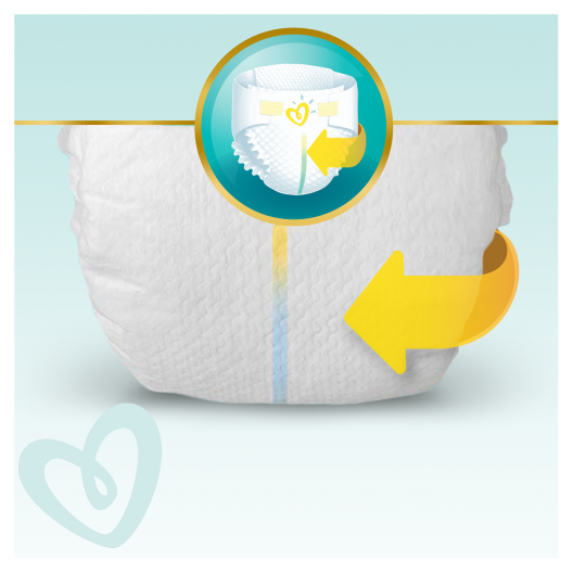Pampers Πάνες Premium Care Monthly Pack (204τεμ) Νο3 (6-10kg)