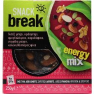 Snack Break Energy Mix 5x50gr 250gr