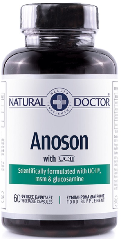 Natural Doctor Anoson 60 Κάψουλες