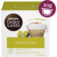 Nescafe Dolce Gusto Cappuccino Κάψουλες 186gr